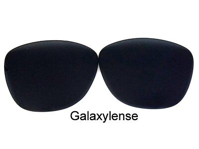 Replacement Lenses For Oakley Frogskins Black Iridium Polarized By Galaxylense