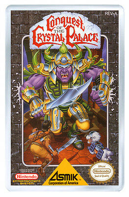 Conquest Of The Crystal Palace Nes Fridge Magnet Iman Nevera