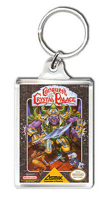 Conquest Of The Crystal Palace Nes Keyring Llavero