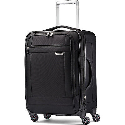 """Samsonite SoLyte 20"""" Expandable Spinner Carry On Upright Suitcase Luggage"""