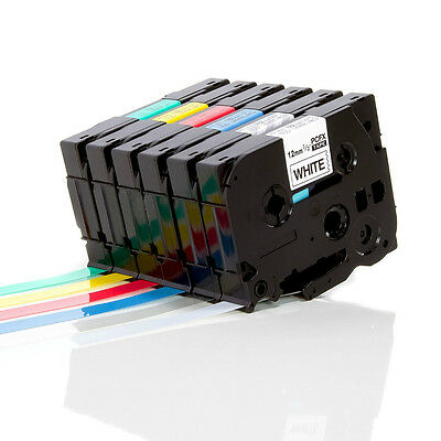 Compatible for Brother Tze TZ Label Tap Cartridge P-Touch Printer