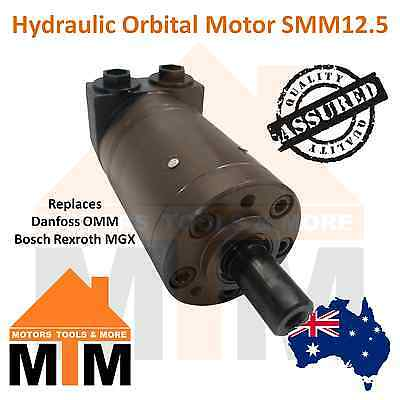 Hydraulic Motor Orbital SMM12.5 Replaces Danfoss OMM 12.5, Bosch Rexroth MGX