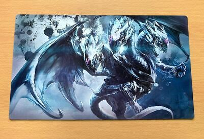 E171 Blue Eyes Ultimate Dragon Play Mat Yugioh Custom Made Playmat Free Mat Bag