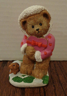Danbury Mint Calendar Bear -- February