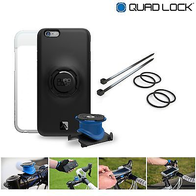 Quad Lock Bike Kit for iPhone 5/5SE, 6/6S, 6 Plus Mount Case Weatherproof Cover