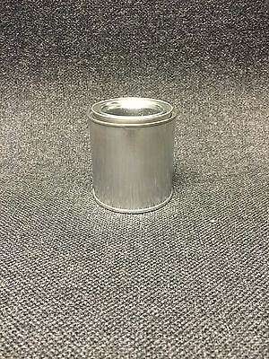 1/2 Pint Size Empty Metal Paint Cans With Lids (12 Cans And 12 Lids)