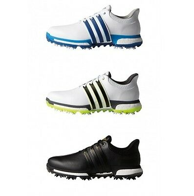 Adidas Tour360 Boost Men's Golf Shoes 2016 Wide Free Delivery 3 Colours Avail