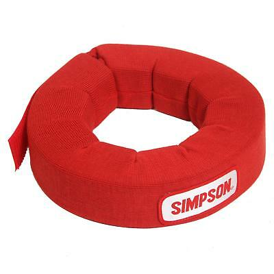 Simpson Racing Neck Brace 360 Degree Style Adult Red Each 23022R