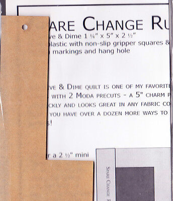 Spare Change Ruler - Kansas Troubles Quilters