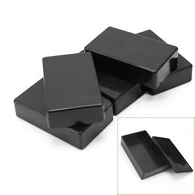 5Pcs 100x60x25mm Plastic Electronic Project Box Enclosure Instrument Case FE