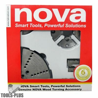 Nova Lathes Small Chuck Jaw Accessory Bundle 6038 New