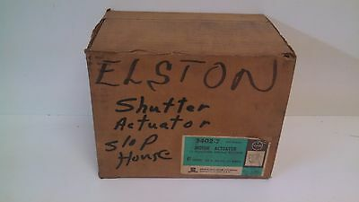 New Old Stock! Emerson 2 Position Spring Return Motor Actuator 3402-7 24V 1.1A