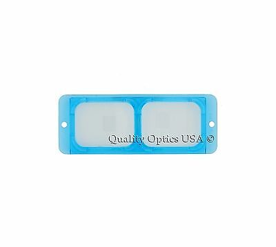 """2.5X Optical Glass Replacement Lens for Head Magnifier 8"""" Depth fits Optivisor"""