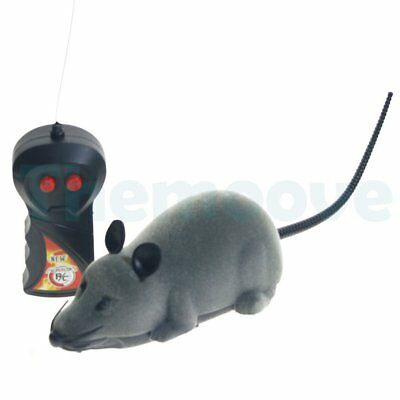 Sales Wireless Remote Control RC Electronic Rat Mouse Mice Toy For Cat Puppy