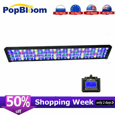 "DSunY Saltwater Aquarium LED Light 36"" 90cm Reef Coral Marine Fish Tank lighting"