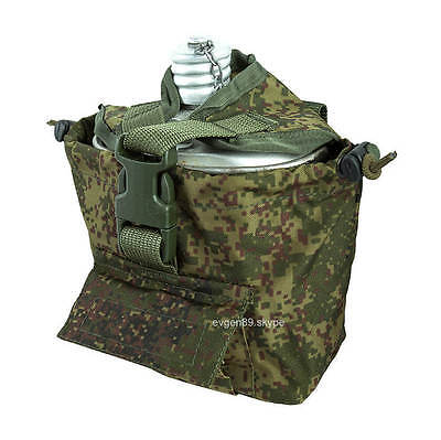 Russian Army TECHINKOM (UMTBS) Canteen  Flask Pouch 6SH112 EMR (DIGITAL FLORA)