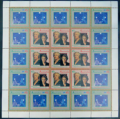 Australian Decimal Stamps:1993-90th Inter-Parliamentary Conference Sheetlet MNH