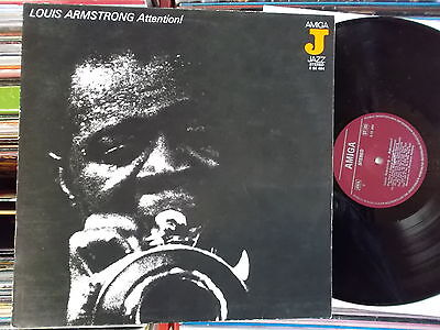 Louis Armstrong Ddr Amiga Lp: Attention! (855484)
