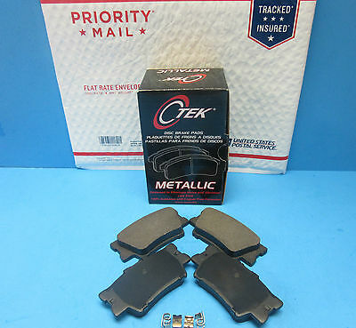 Rear Disc Brake Pad Set For Toyota & Lexus OEM# 0446507010 Camry Avalon