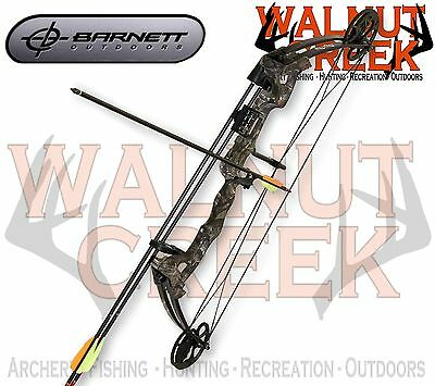 Barnett Vortex Right Hand Adjustable Youth Compound Bow Package 1105