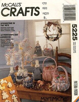 McCall's Easter Package Pattern 5225 UNCUT