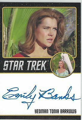 Star Trek TOS 50th Anniversary (2016) Emily Banks autograph