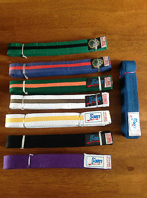 Force Tae Kwon Do / Judo / Martial Arts Belt    Various Colours    Brand New