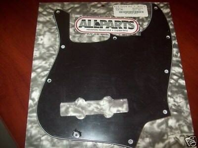 NEW - Pickguard For Fender Mexican Standard Jazz Bass, 3-Ply - BLACK