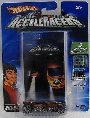 2005 Hot Wheels Acceleracers Metal Maniacs Rat-Ified 8/9 From Factory Set