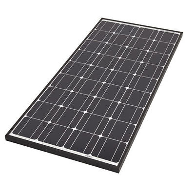100 WATT SOLAR PANEL kit 100w suit motorhome VW T25 T4 T5 camper bongo vito etc.
