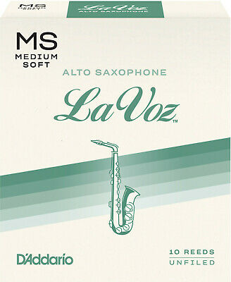 La Voz Alto Saxophone Reeds by Rico 10 Box Various Strengths Free Delivery