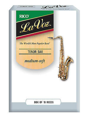 La Voz Tenor Saxophone Reeds by Rico 10 Box Various Strengths Free Delivery