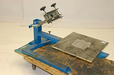 "Pneumatic Workholding Platform, 15.5"" x 15.5"", Spring Loaded Clamp"