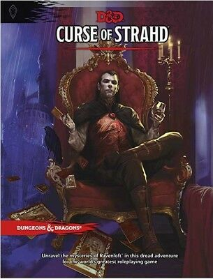 Dungeons & Dragons: Curse of Strahd (Hardcover) TRPG