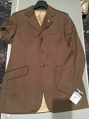 "Caldene 38"" Covert Tweed  Mens Summer Weight Jacket VC18 measurements on pics"