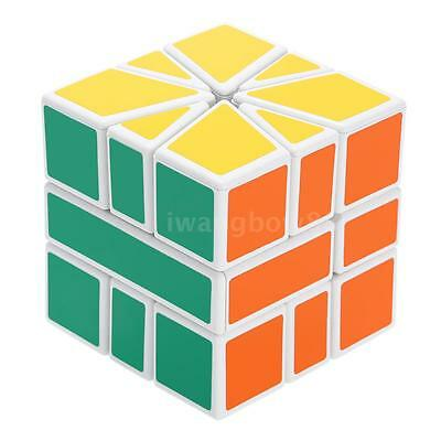 Shengshou Square-1 SQ1 Magic Cube ABS Cubo Puzzle Speed Twist Toy Bianco E7C1
