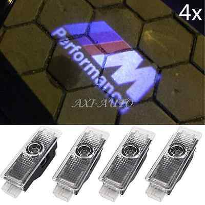 4 X LED Car Step Logo Welcome Lights Laser Shadow Door Projector For BMW E60 E90