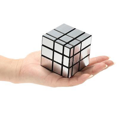 Shengshou 3*3*3 Mirror Magic Cube Cubo Wire Drawing Cast Coated Puzzle Twis Z6S6