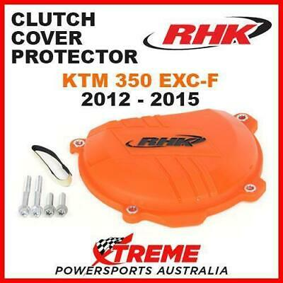 Rhk Mx Factory Orange Clutch Cover Protector Guard Ktm 350 Excf Exc-F 2012-2015