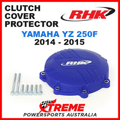 Rhk Mx Yamaha Yz250F Yzf250 2014-2015 Factory Blue Clutch Cover Protector Guard
