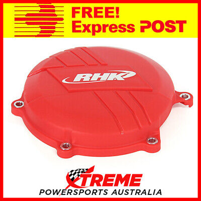 Rhk Mx Factory Red Clutch Cover Protector Guard Honda Crf450R Crf 450R 2009-2016