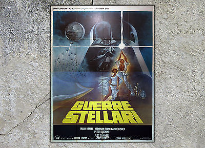 Original Movie Poster Star Wars 140x200 - Guerre Stellari  - 2 Parts