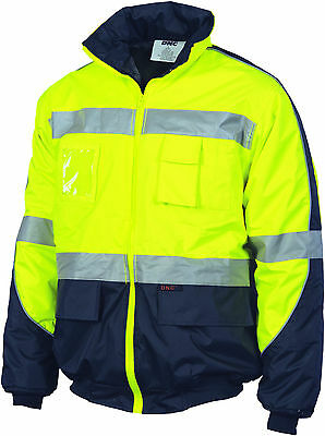 HiVis D/N Contrast Bomber Jacket  DNC Workwear 3992
