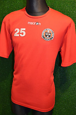 Bohemian Dublin #25 Macron Training Football Shirt (L) Ireland Jersey Top Trikot