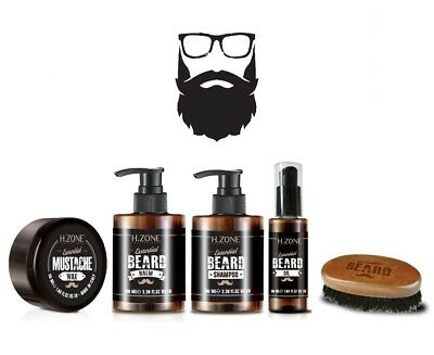Kit Barba e Baffi H-Zone Essential Beard - Renèe Blanche