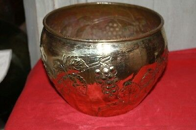 BRASS SKIN FOR POT - with decorated - P155
