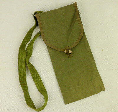 Surplus Chinese Military Type 53 Pouch Accessory Bag & Strap-L1057