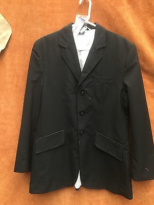 "Equetech 42"" Black Mens Invent Show Jacket  ex Display"