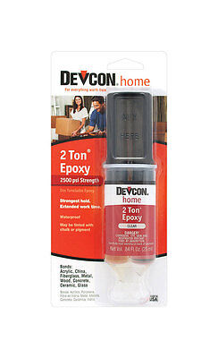 Devcon S31 2 Ton Clear Welder Epoxy Glue Waterproof Adhesive 31345