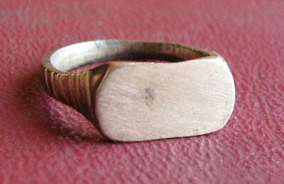 Antique Artifact > 19th Century Bronze Finger Ring SZ: 6 US 16.5mm 14438 DR